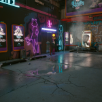 Cyberpunk 2077 #2 Realtime Raytracing